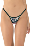 string Brazilian cut adjustable panty. Women's underwear