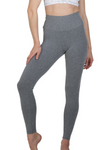 mixed grey high waist activewear legging