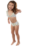 Kids Two-Piece Ruffled Swimsuit Mommy and Me