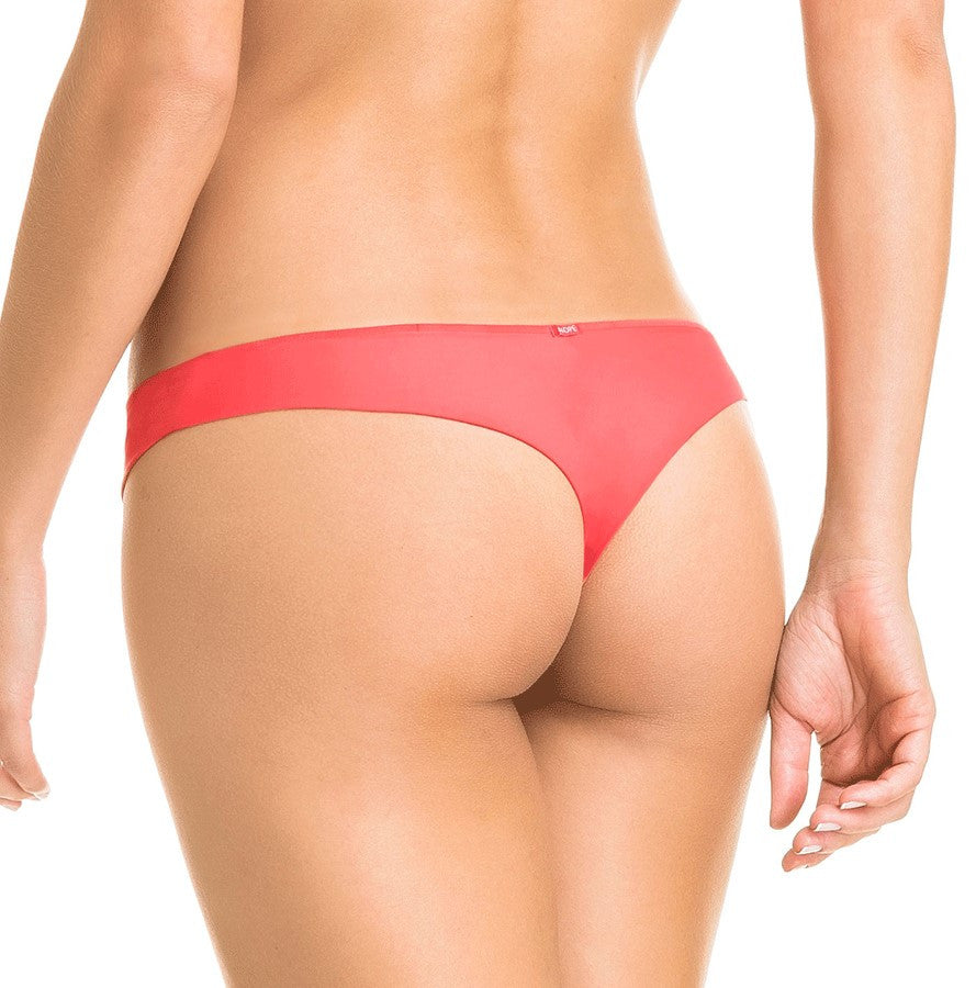 Orange Brazilian Thong Panty