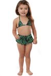 Kids Two-Piece Triangle Swimsuit Mommy and Me