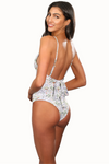 KATE WHITE RAINFOREST One Piece Swimsuit