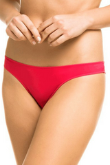 Red Brazilian Tanga Panties