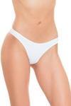 White Brazilian Tanga Panties