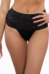 compressing, slimming Brazilian lace thong underwear