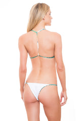 TALITA LEAVES String Brazilian Bikini Bottoms