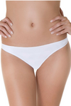 White Brazilian Thong Panty
