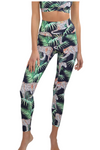 CAROLINE TROPICAL LEOPARD Activewear Legging