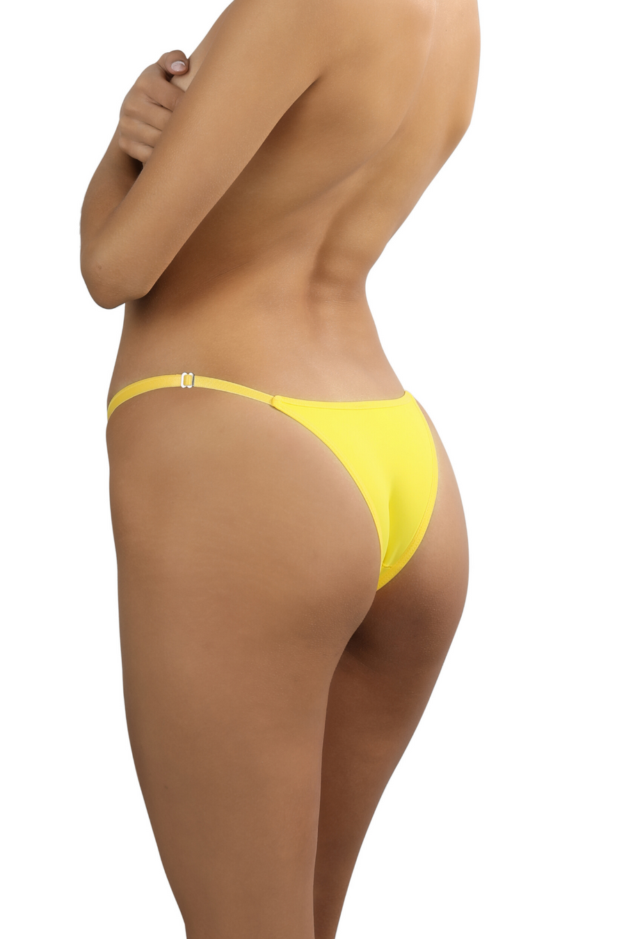 yellow brazilian string bikini underwear women's