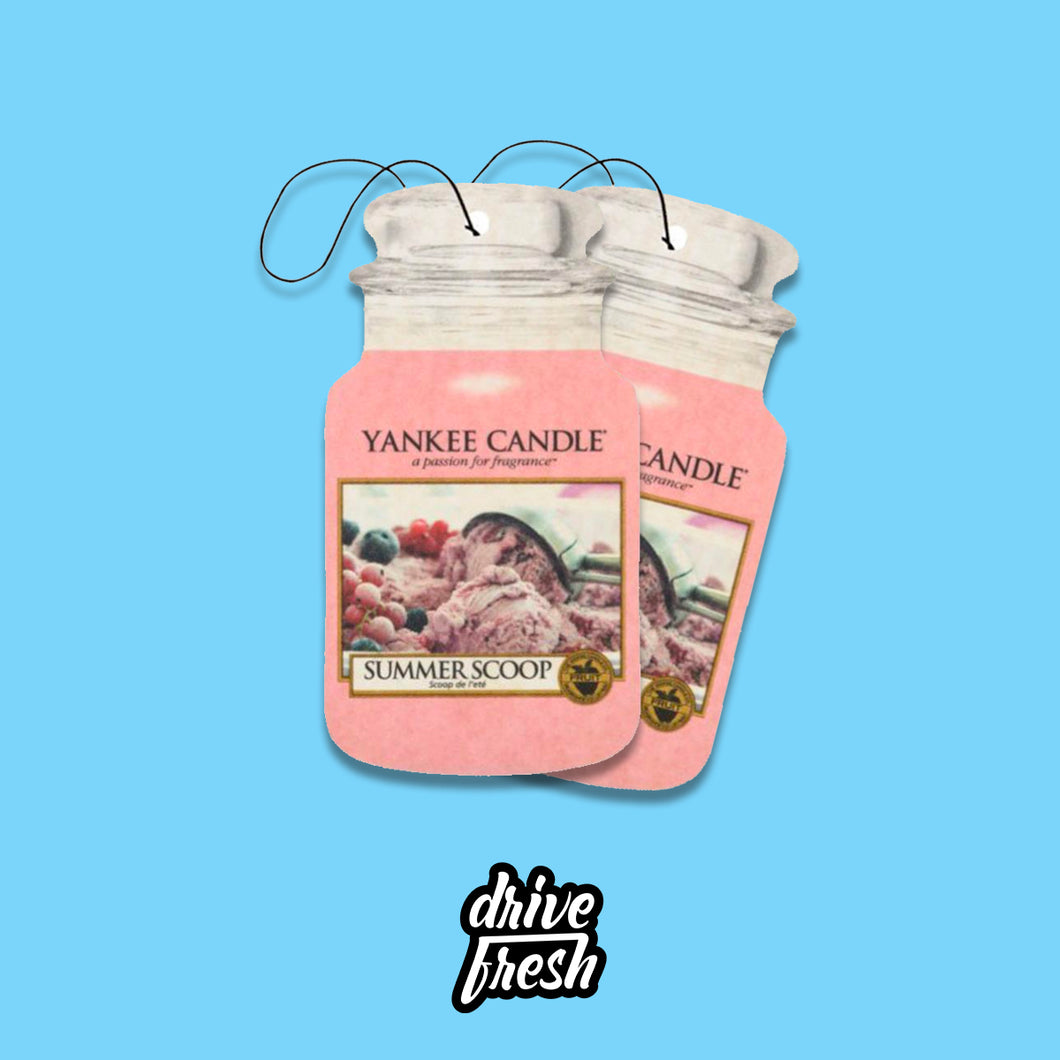 Yankee Candle Box - Drive Fresh