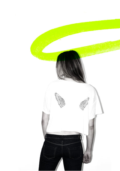 WINGS girls tee