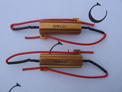 2x 50W 6ohm Load Resistor for LED Turn Signals