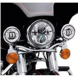 "7"" LED Cree Daymaker Style Headlight H4 H/L Harley Davidson, Jeep"