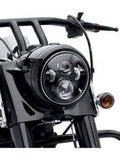 "5.65"" LED Cree Daymaker Style Headlight H4 H/L Harley Davidson"