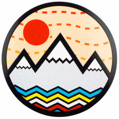 Vibe Mountain Sticker