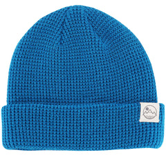 Waffle Knit Beanie (Electric Blue)