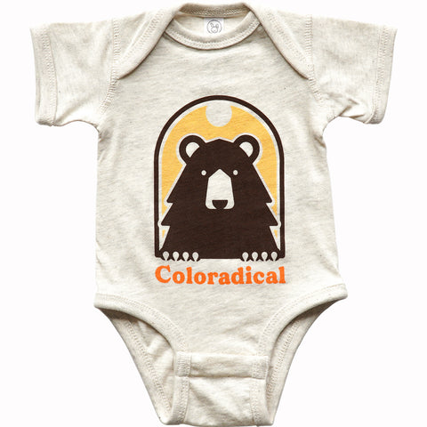 Window Bear Onesie