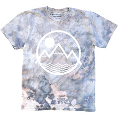 Coloradical Colorado Tie-Dye Mountains Logo T Shirt