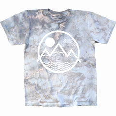 Colorado Tie-Dye Mountains Logo T-Shirt