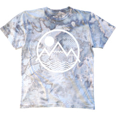 Coloradical Colorado Tie-Dye Mountains Logo T-Shirt