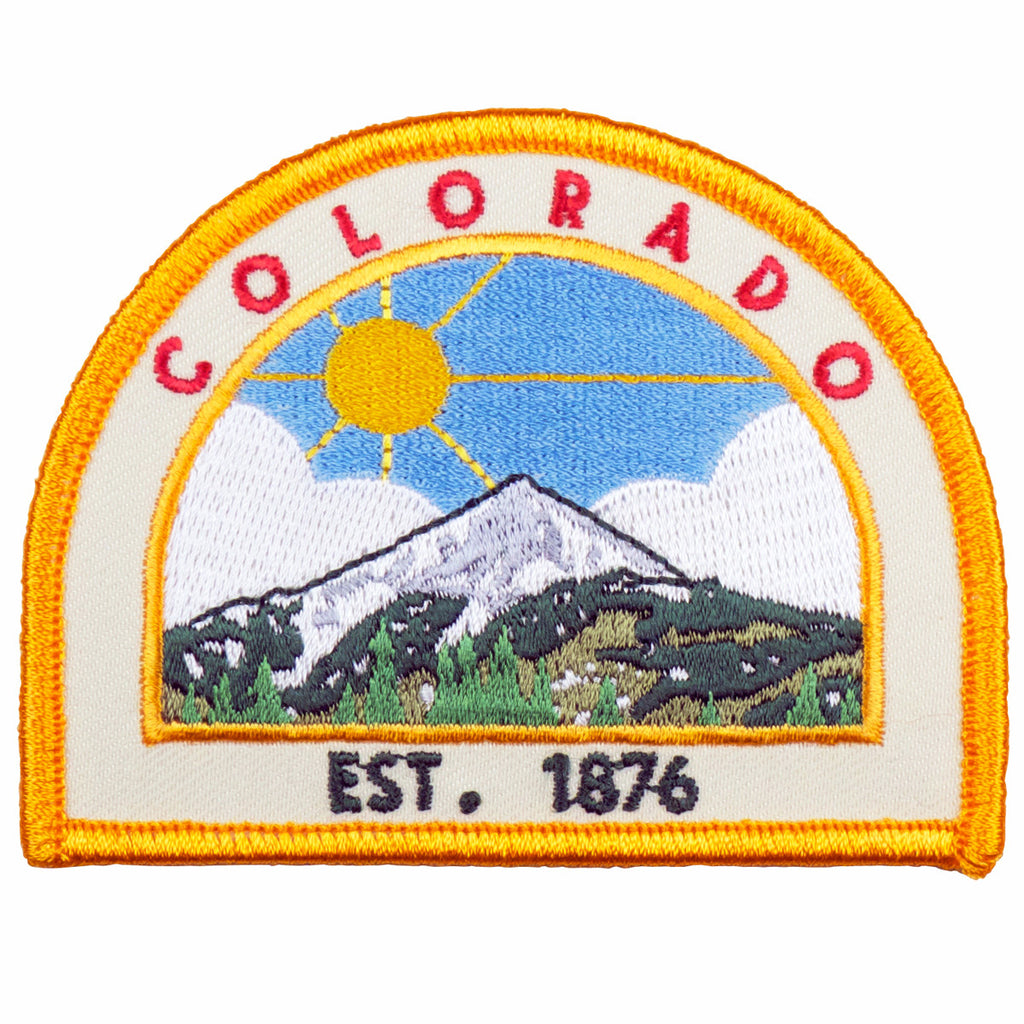 Colorado Est. 1876 Patch