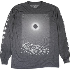 Coloradical Long Sleeve Radiating Sun and Mountains T-Shirt
