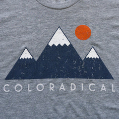 Coloradical Colorado Mountains Women's T Shirt
