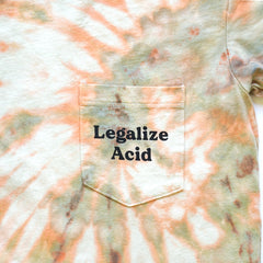 Legalize Acid Tie-Dye Pocket T-Shirt