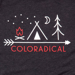 Coloradical Colorado Camp Logo TShirt