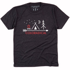 Coloradical Colorado Camp Logo T Shirt