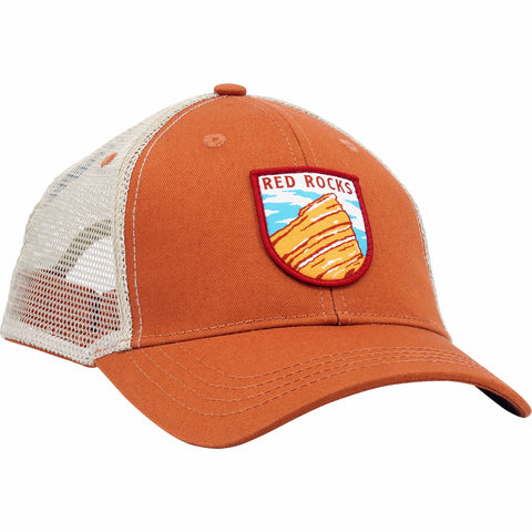 Red Rocks Trucker Hat (Sandstone)