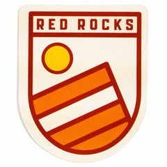 Red Rocks Sticker (Day)