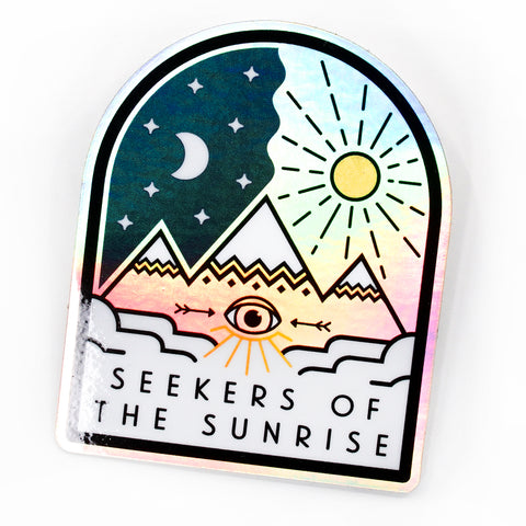 Seekers Of Hologram Sticker