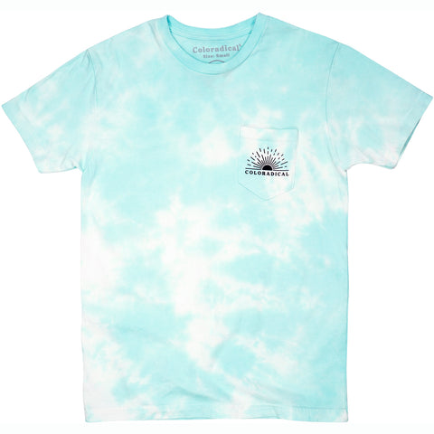 Seafoam Sunrise Pocket Tee