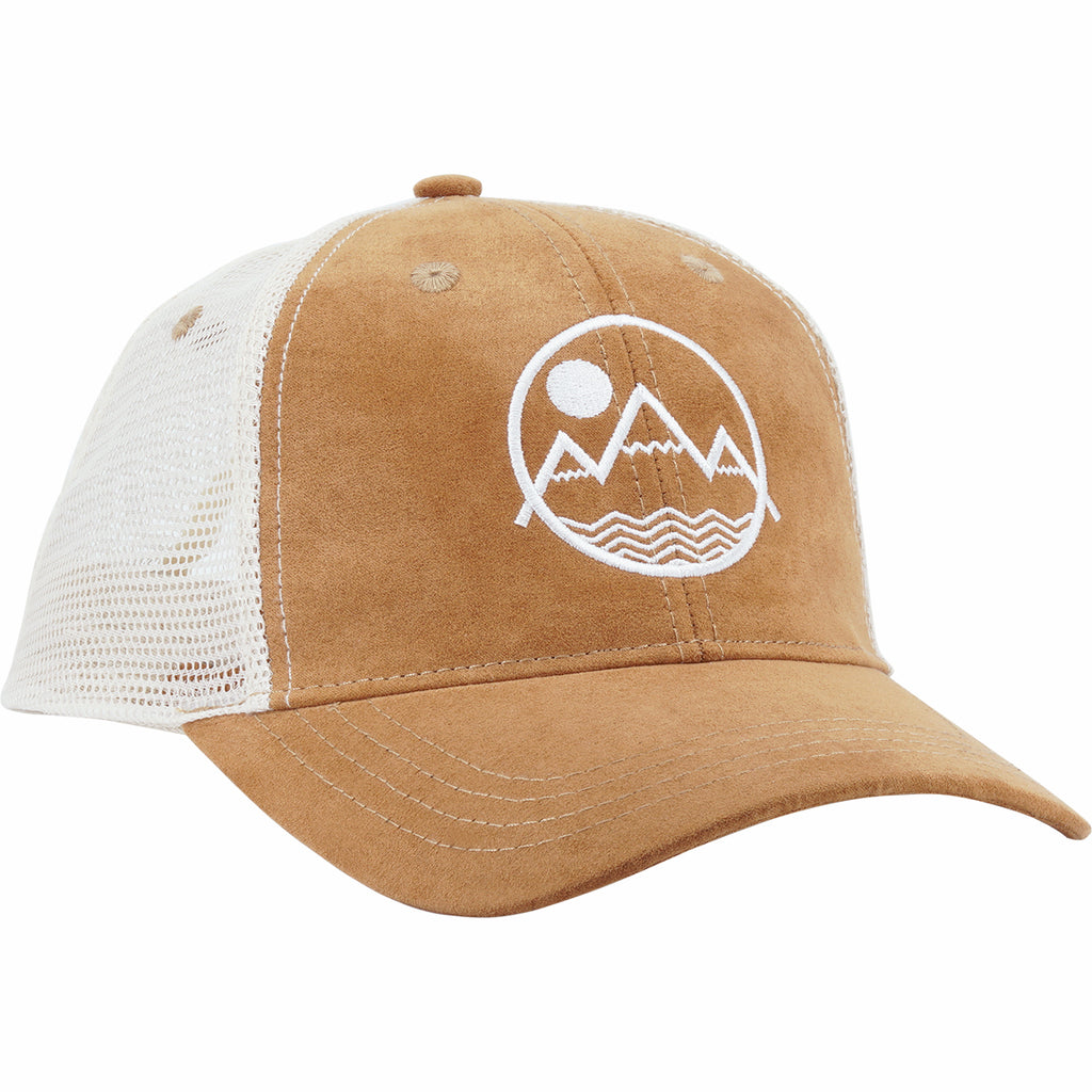 Coloradical Colorado Mountains with Zig Zag Lines Trucker Hat