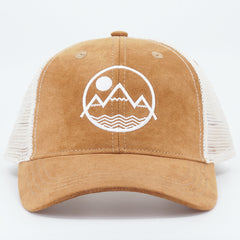 Coloradical Colorado Mountains Circle Logo TruckerHat