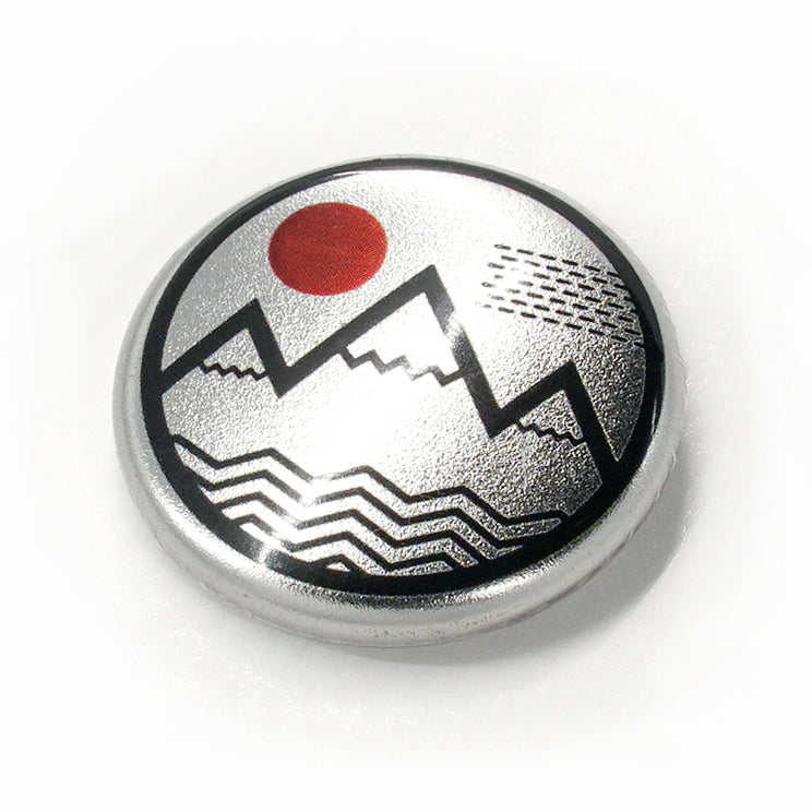 Vibe Mountain Metal Button
