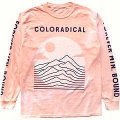Coloradical Colorado Tie Dye Long Sleeve T Shirt
