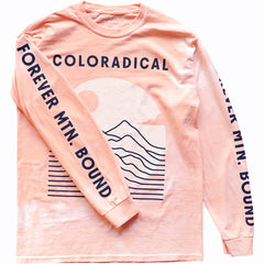 Coloradical Colorado Tie Dye Long Sleeve T-Shirt
