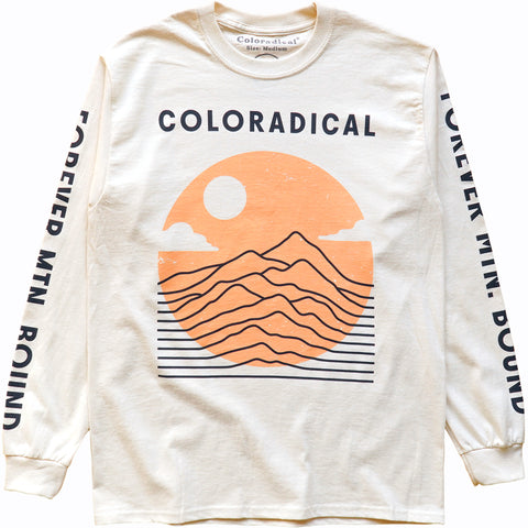 Vibrations Long Sleeve Tee (Natural)