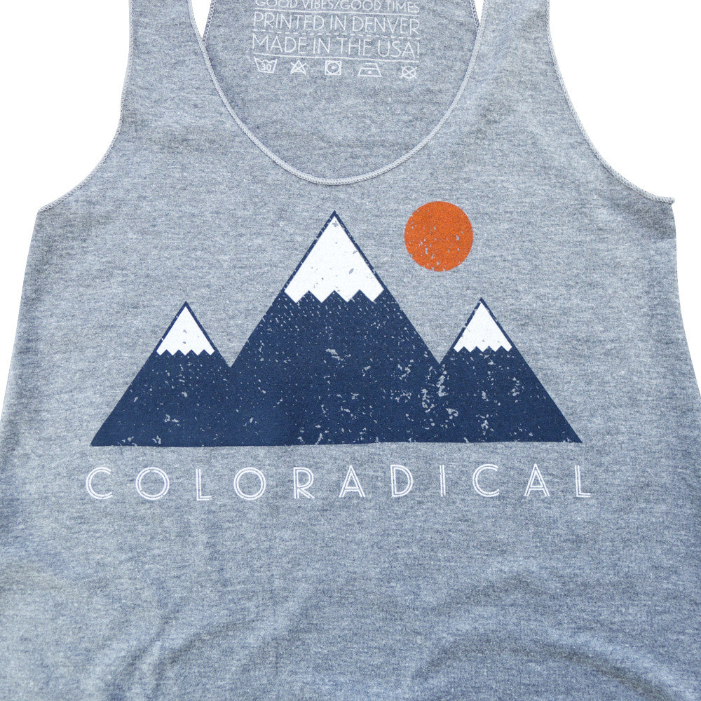 Womens Coloradical Vibe Mountain Tank
