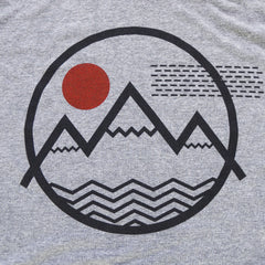 Vibe Mountain T-Shirt (Men's Grey)