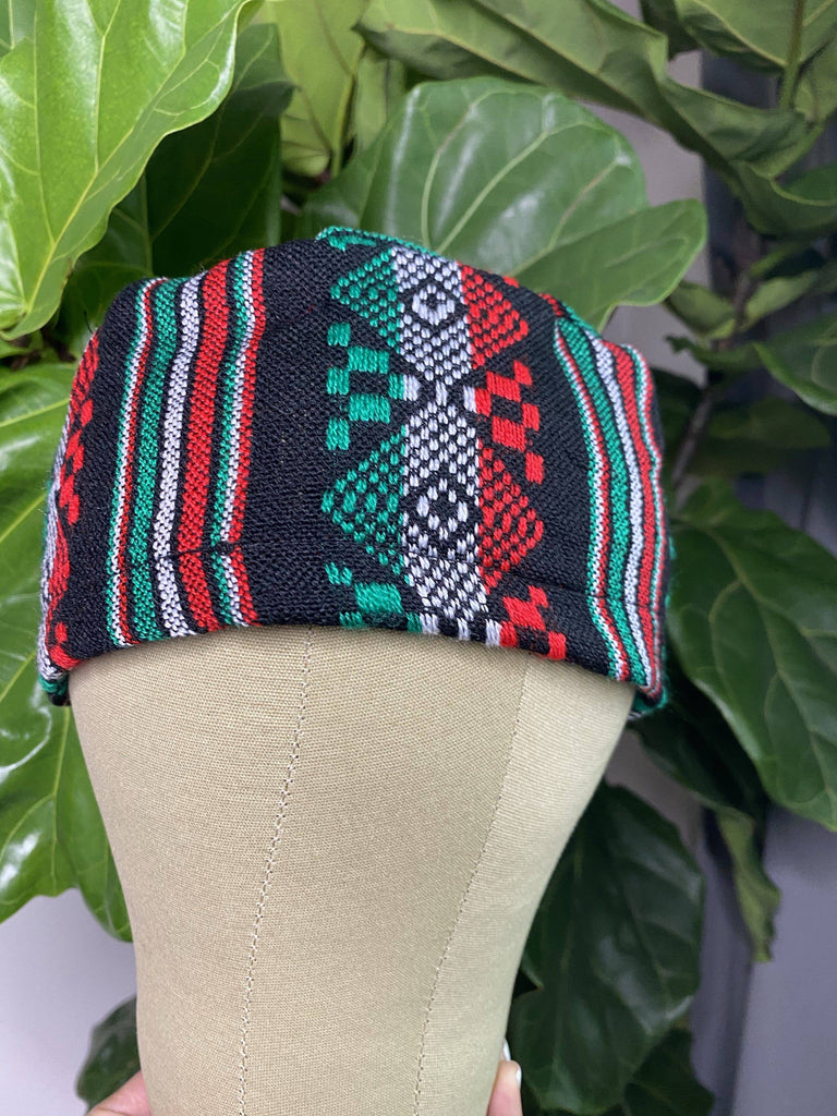 CAMBAYA Scrub Hat - Black - LaPerlaMX, ,[Mexican_Huaraches], [Huarache_Sandals], [Huaraches_Mexicanos], [Lace-up_Huaraches], [Leather_Huaraches], [Leather_sandals], [Handmade_sandals], [Handmade_Huaraches], [Mexican_Dresses], [Mexican_Clothing], [Mexican_shoes], [Mexican_Sandals], [women's_huarche_sandals], [Handwoven_Sandals]