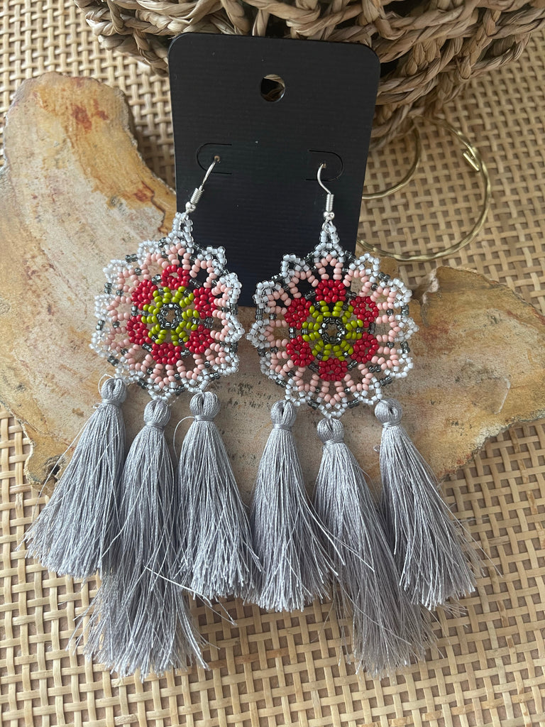 Wixarika Tassel Earrings