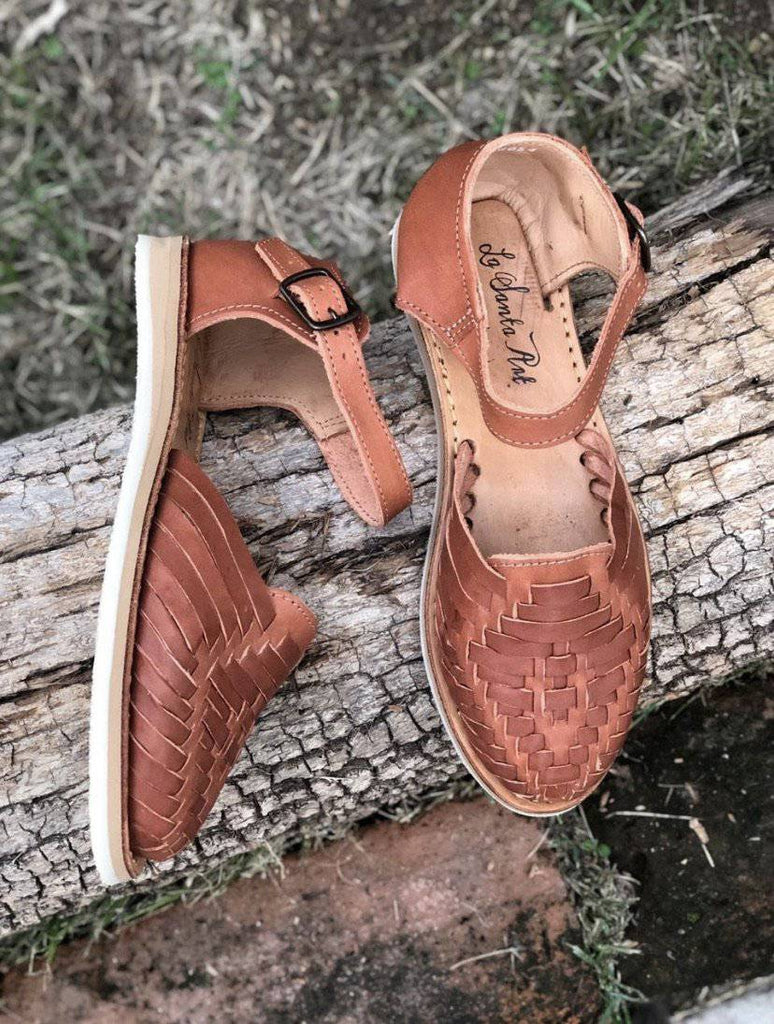 Juliana Chedron Huarache Sandals - LaPerlaMX