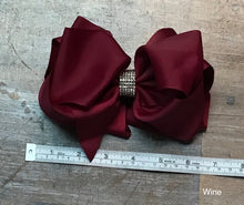 Load image into Gallery viewer, Rhinestone Hairbow