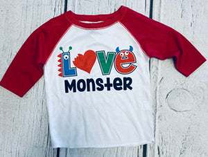 Love Monster Raglan