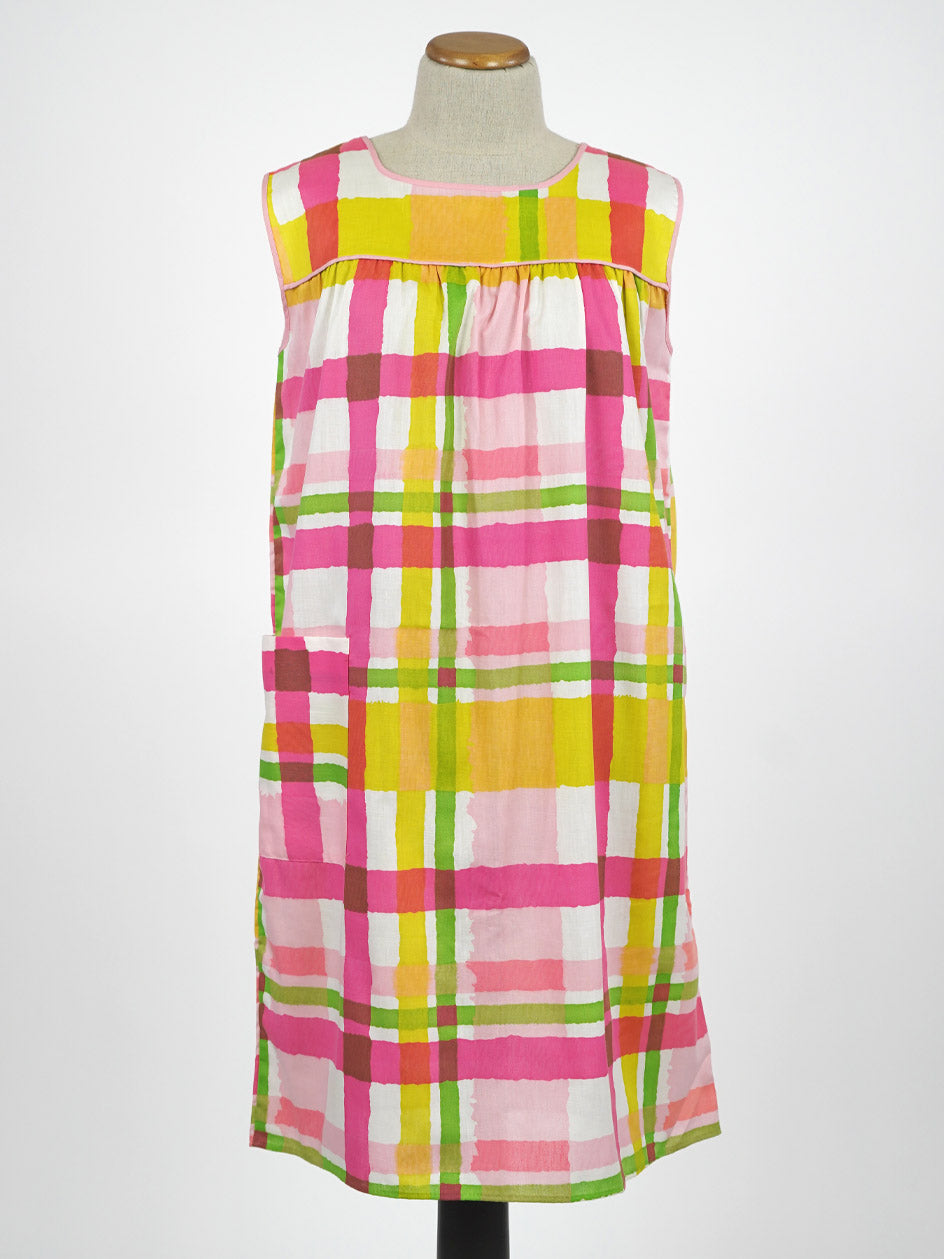 1960s MOD COTTON SUMMER DRESS