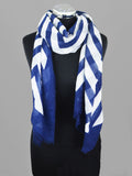 Vimoda Lightweight Striped Print Scarf
