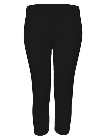 Rendez-Vous Black 'Jenny' 3/4 Length Leggings